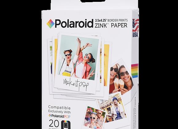 Papier Photo ZINK® Polaroid 3x4''