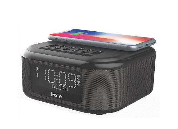 Réveil Bluetooth iHome iBTW23 avec chargeur QI