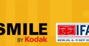 Newsletters ● Gamme Kodak SMILE à l'IFA