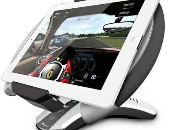 Volant Cideko & Support tablette avec enceinte Bluetooth