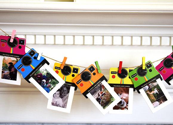 """Cadres Photo Vintages Polaroid pour papier photo 2x3"""" ZINK®"""
