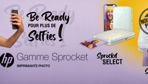 Nouveautés ● Distribution Exclusive de la gamme Sprocket de la marque HP !