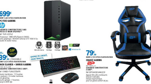 Deals ● Sélection High-Tech chez Leclerc avec la Chaise Gaming Betterplay