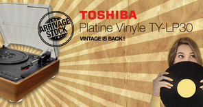 Arrivages ● Toshiba TY-LP30