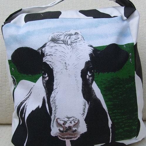 Holstein Cow Fabric Doorstop