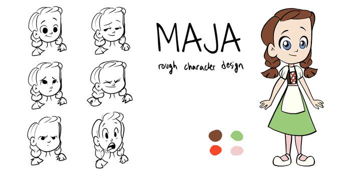 CHARACTER DESIGN - MAJA