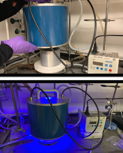 Uniqsis photochemical flow system