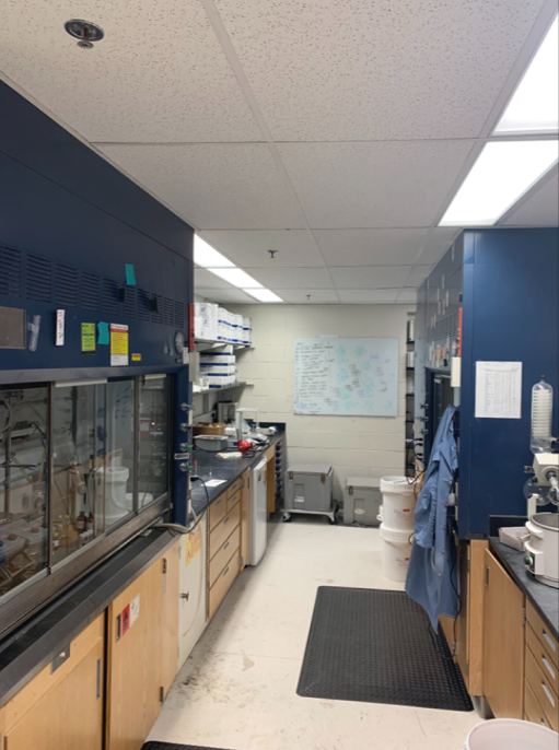 3rd floor lab space