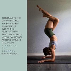 Whitney Davis yoga quote