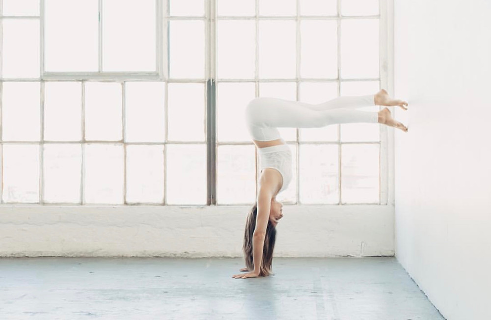 Katie Baki of Y7 Yoga Studio in Los Angeles talks to Intention Botanicals about life off the mat and heart opening backbends