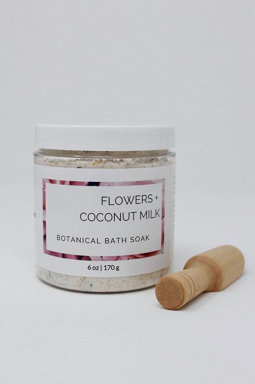 Flowers + Coconut Milk Botanical Bath Powder