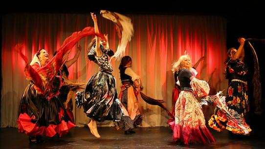 Russischer Roma Tanz