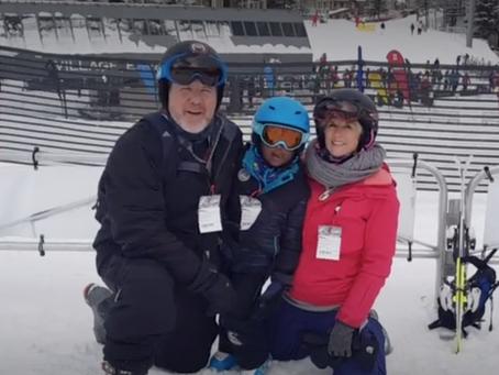Skiing for Sala Bai
