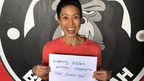 Walking 36Km in Solidarity for Sala Bai