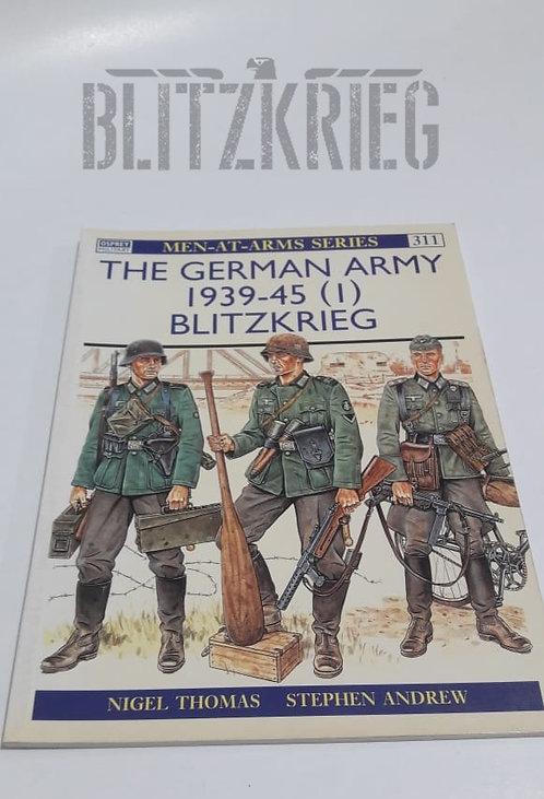 Livro The German Army 1939-45 Blitzkrieg