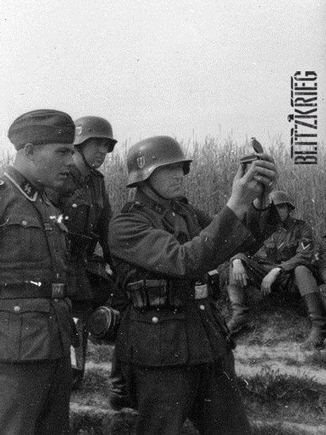 Bússola alemã wehrmacht - SS segunda guerra