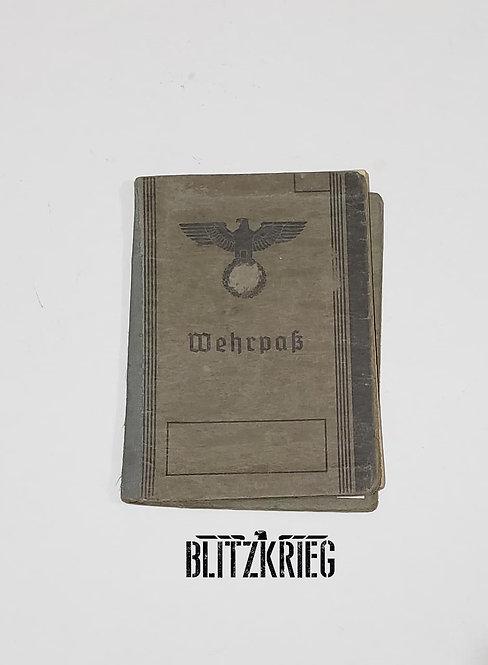 Documento Wehrpass 1942