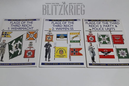 Livro Flags of the Third Reich volume 3