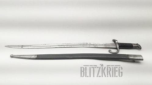 Baioneta Yatagan modelo 1867 Dinamarquesa