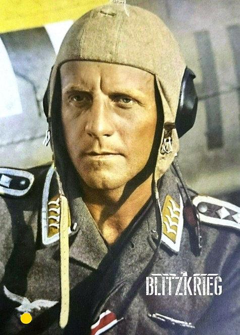 Gorro Alemão de voo Luftwaffe de verão ww2