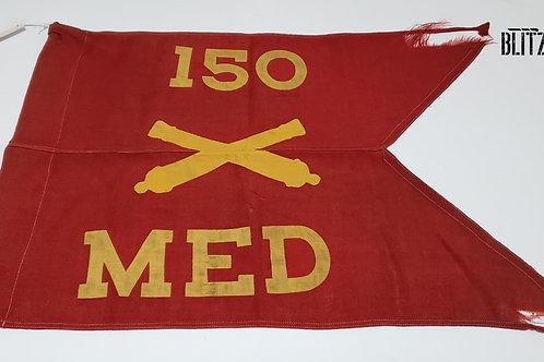 Bandeira Americana Batalhão 150 artilharia