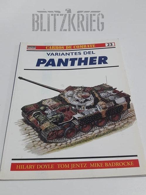 Livro Variantes del Panther ww2