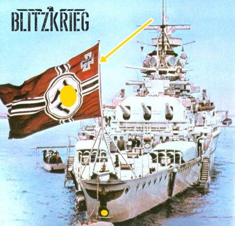 Bandeira de guerra ww2