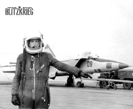 Traje de voo união sovietica MiG-25 e MiG-31