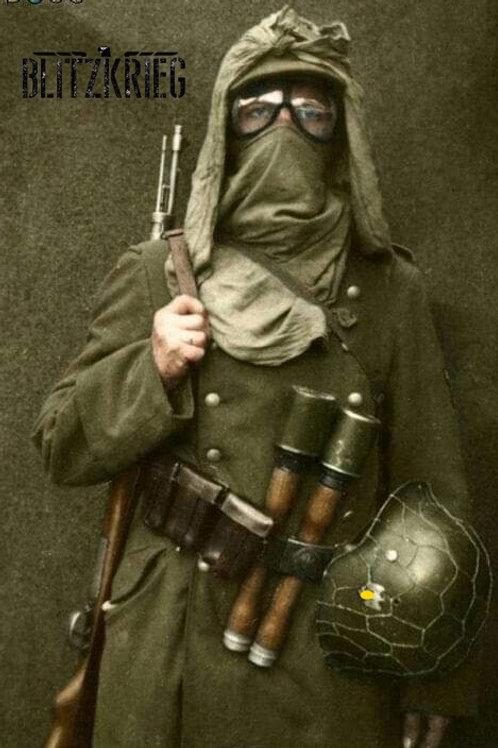 Óculos Alemão Ww2 Afrika Korps Segunda Guerra