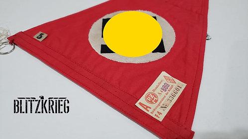 Flamula do partido alemão com etiqueta rzm ww2