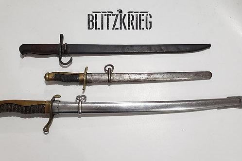 Espadas Japonesas Ww2 Policia Wakizashi