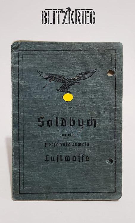 Soldbuch da Luftwaffe