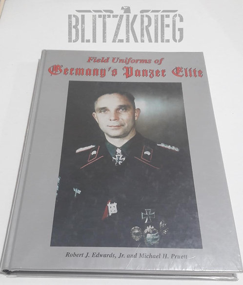Livro Field Uniforms of Germany's Panzer Elite