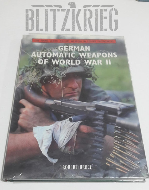 Livro German Automatic Weapons of World War II