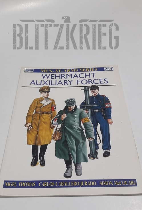 Livro Wehrmacht Auxiliary Forces