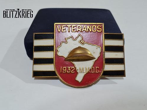 Escudo Esmaltado Comemorativo Revolução 1932