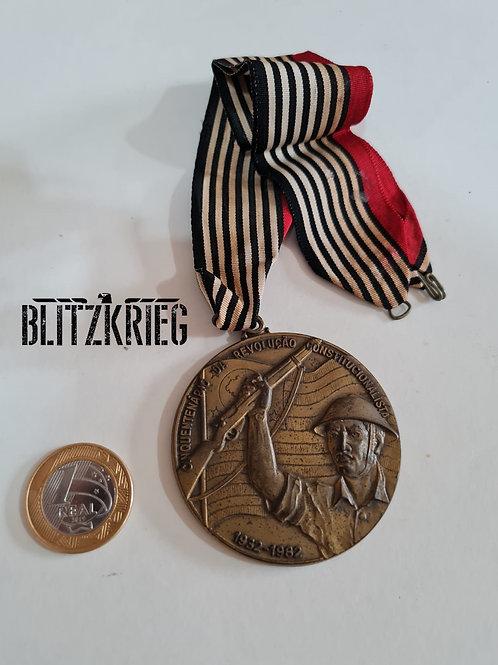 Medalhão Comemorativo 50 Anos Revolução 1932
