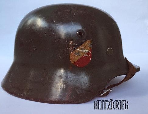 Capacete Alemão M35 Decal Duplo Wehrmacht