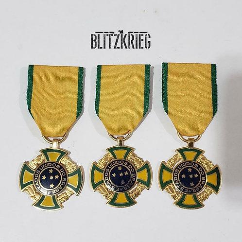 Medalha de Guerra Brasil Reposição Uni.