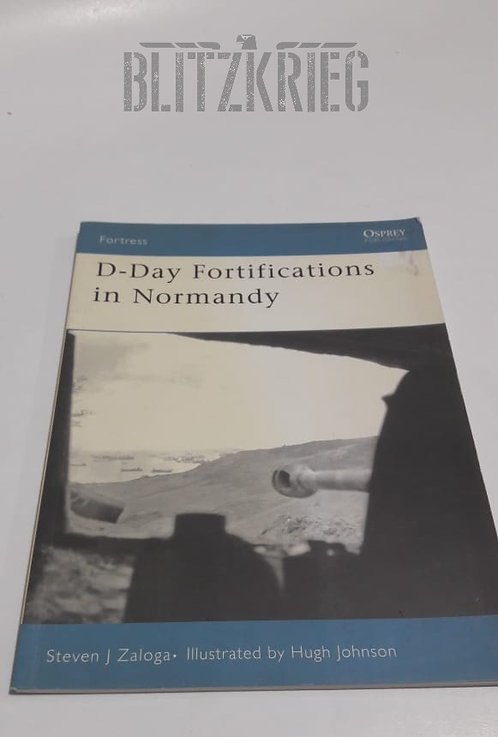Livro D day Fortifications in Normandy