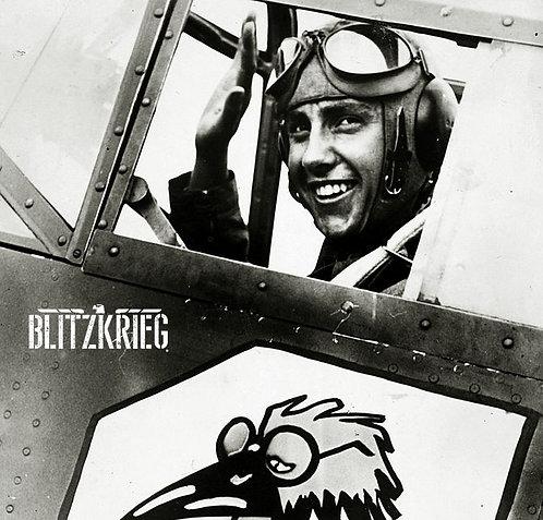 Óculos de voo alemão luftwaffe ww2