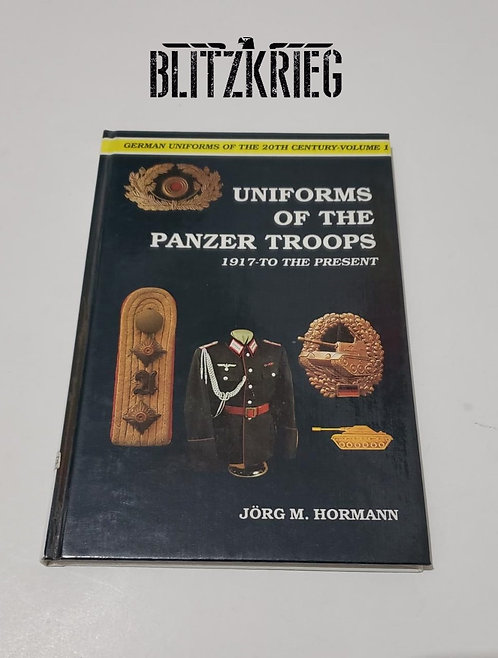 Livro Uniforms of the panzer troops