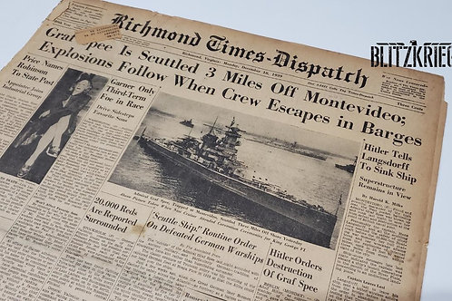 Jornal sobre Graf Spee