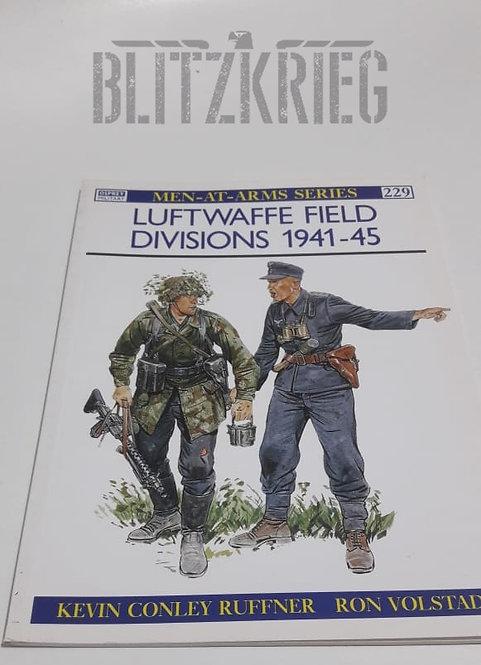Livro Luftwaffe Field Divisions 1941-1945