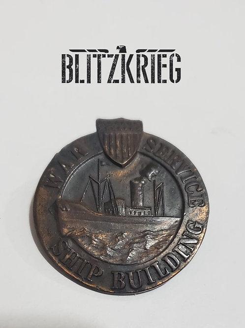 Badge Americano serviço de guerra ww2