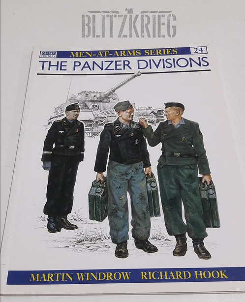 Livro The Panzer Divisions