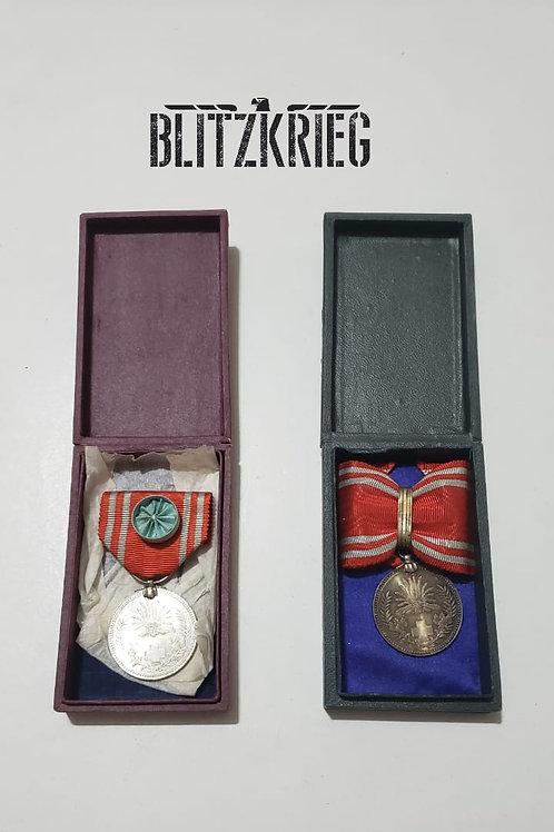 lote Medalhas Japonesas Cruz Vermelha ww2