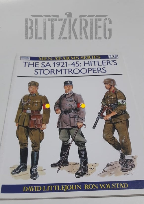 Livro The Sa 1921-45 Hitlers Stormtroopers