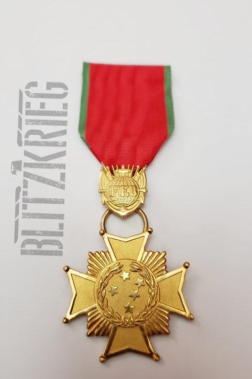 Medalha Cruz de Combate 1ª Classe Brasil Reposição