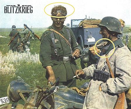 Óculos Alemão Wehrmacht